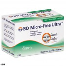 *BD Micro-Fine Ultra Pen-Nadeln -ausser Handel-/Alternative: BEC 320561 32 G 0,23 x 4 mm (100 Stck.)  UK = 12 Pack
