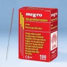 Akupunkturnadeln 0,20 x 15 A1 mit Kupfergriff (100 Stck.) UK = 100 Pack