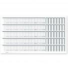 Alphabetleistenaufkleber MEGAnorm DIN A4 aus unzerreißbarer PP-Folie (100 Stck.)