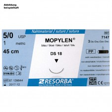 MOPYLEN DS 13 5/0=1 blau monofil,